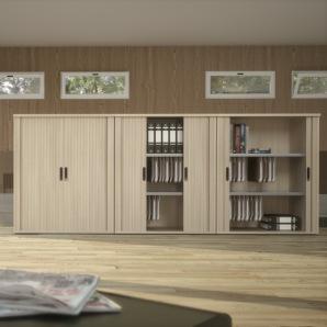 Armoire rideaux Monochrome direct system