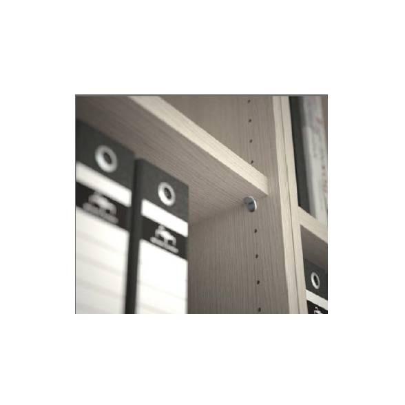 étagère fixe pour armoire portes coulissantes